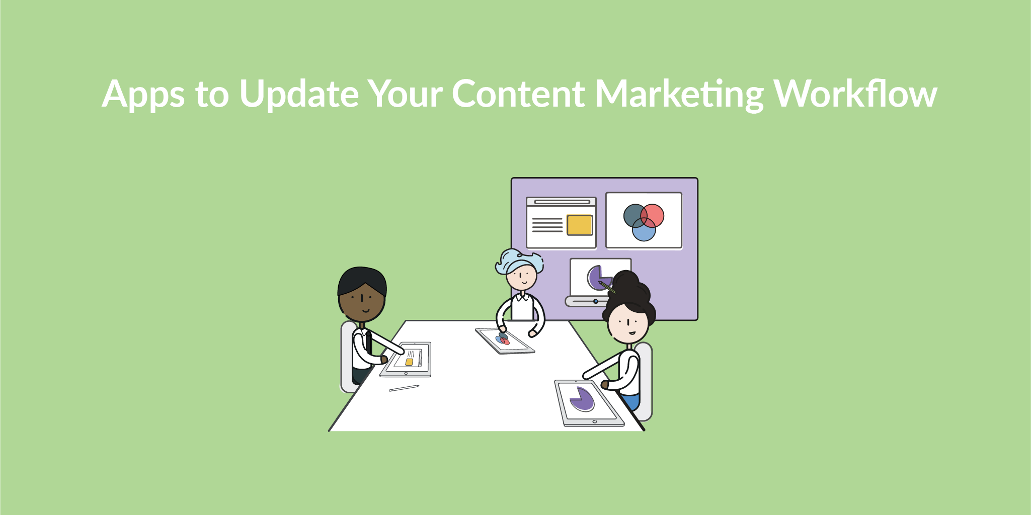 Explain Everything is the best app to update content marketing